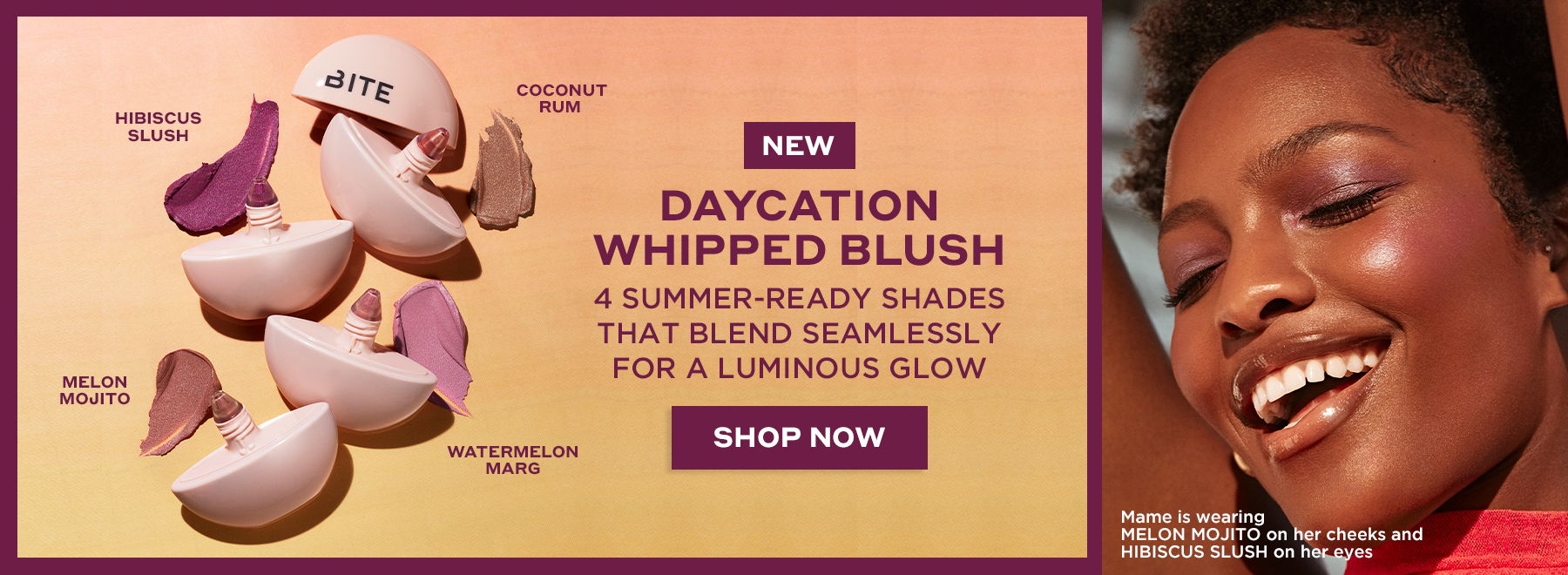 New! Daycation Whipped Blush