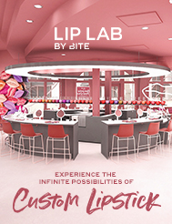 Create a lipstick as unique as you! Book now for a limited-time offer.