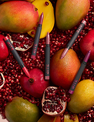 All lips have something powerful to say: Bold, vivid lip color, powered by superfoods